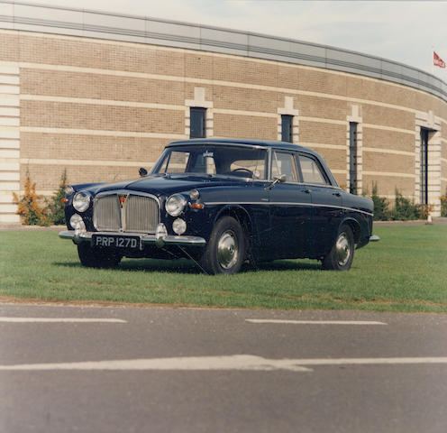 1965 Rover 3-Litre Saloon  Chassis no. 79800009-A Engine no. 79500296-A