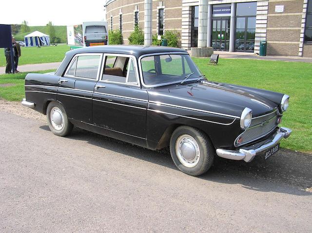 1963 Austin A60 Cambridge Saloon  Chassis no. AHS9-58608 Engine no. 16AMUAH104028