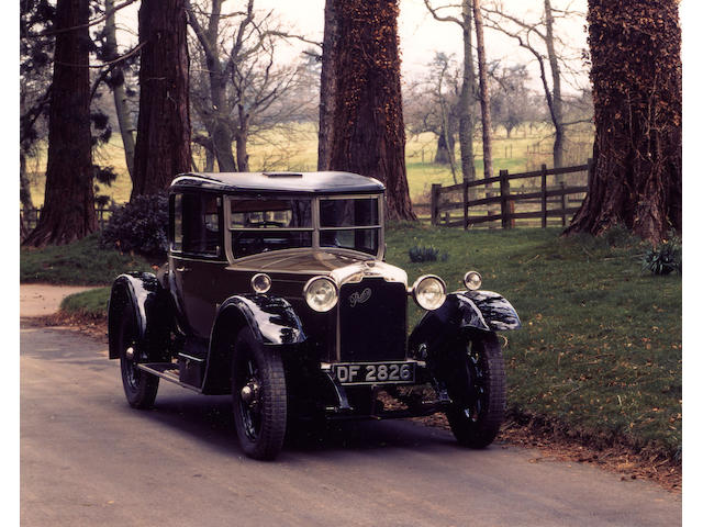 1927 Rover 16/50 Doctors Coupe