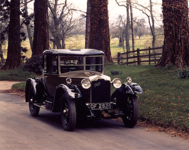 1927 Rover 16/50hp Doctor's Coupé  Chassis no. 4696 Engine no. 4696