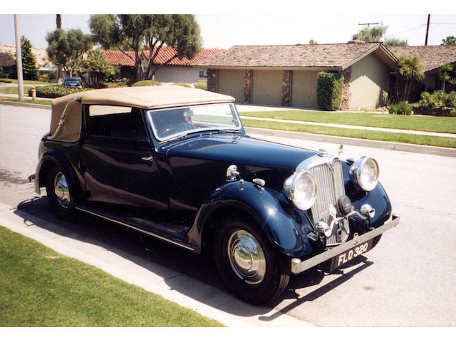 1939 Rover 14HP tourer