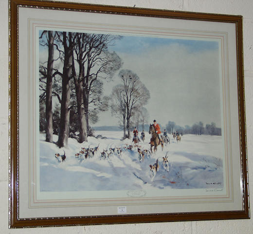 Donald Grant 'On a Winters Morn'