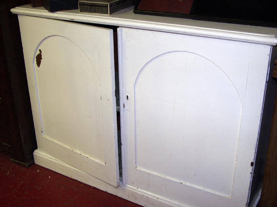 A 19th Century painted pine chiffonier