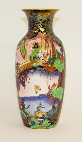A Wedgwood Fairyland lustre vase