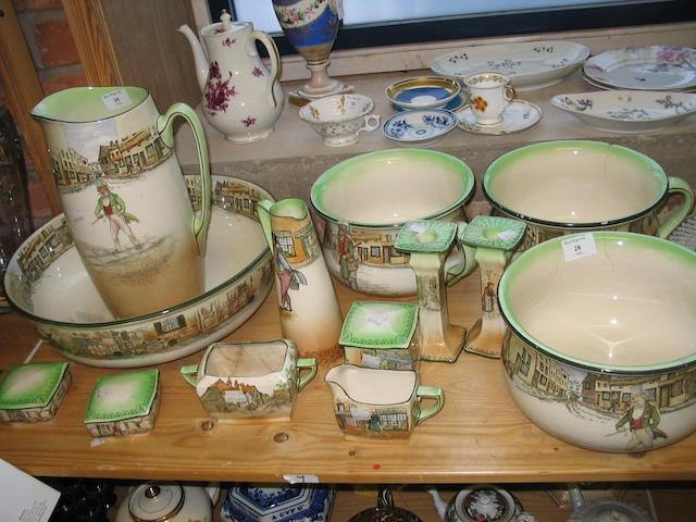 A collection of Royal Doulton Dickensware