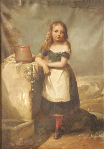 Thomas Jones Barker (1815-1882) The maid at the well