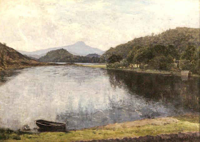 Colin Mitchell (20thc) Loch Ard