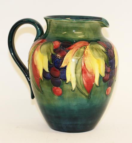 A Walter Moorcroft jug