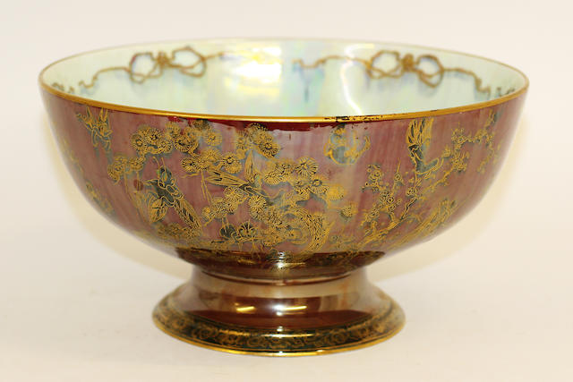 A Wedgwood Fairyland lustre punch bowl
