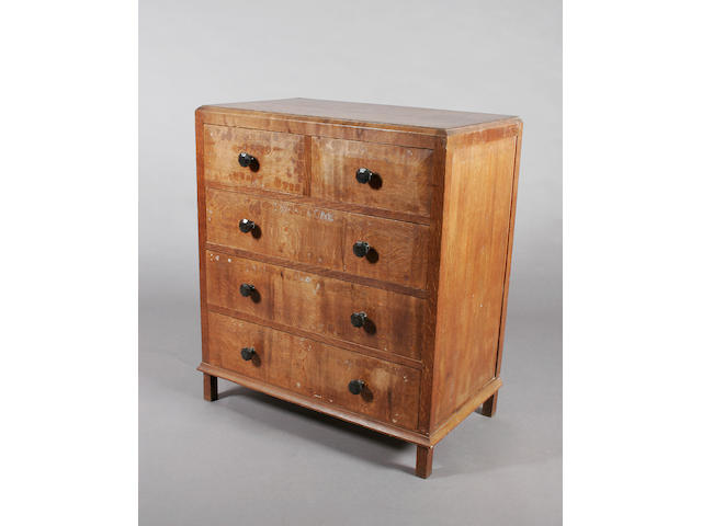 A Gordon Russell oak chest