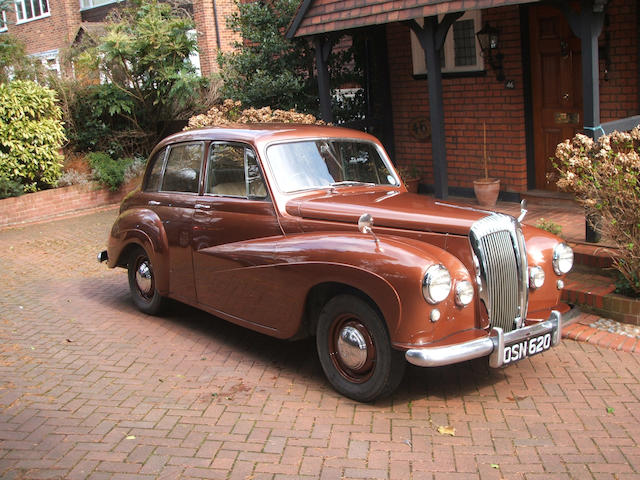 36,000 miles from new,1955 Daimler Conquest Century  Chassis no. 91790 Engine no. 81165