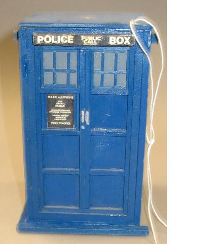 'Dr. Who': a model of the Tardis, 1980s,