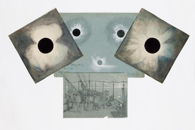 ASTRONOMY - SOLAR ECLIPSE OF 1871