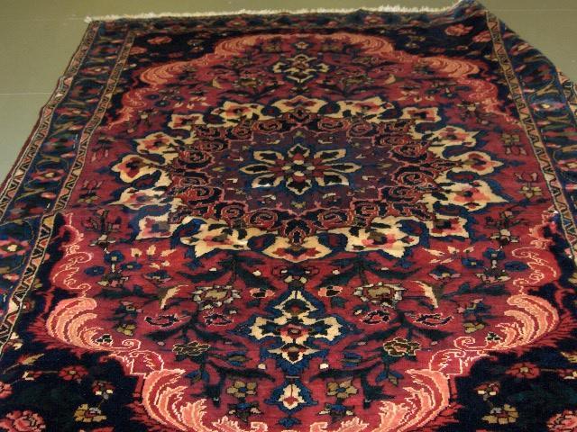 A Bakhtiar rug West Persia, 213cm x 168cm