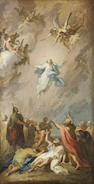 North Italian School, 18th Century The Transfiguration