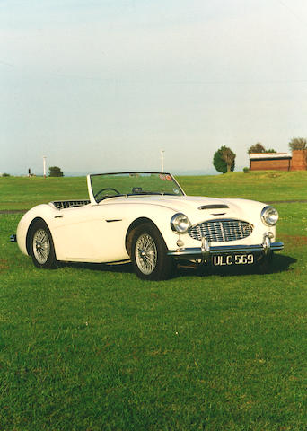 1957 Austin Healey 100/6 BN4 Roadster  Chassis no. BN4-O.31194