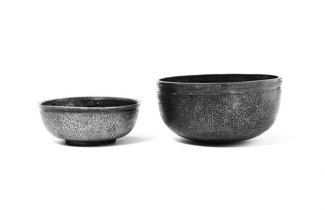 Two Veneto-Saracenic Bowls Syria, last quarter 15th Century (2)
