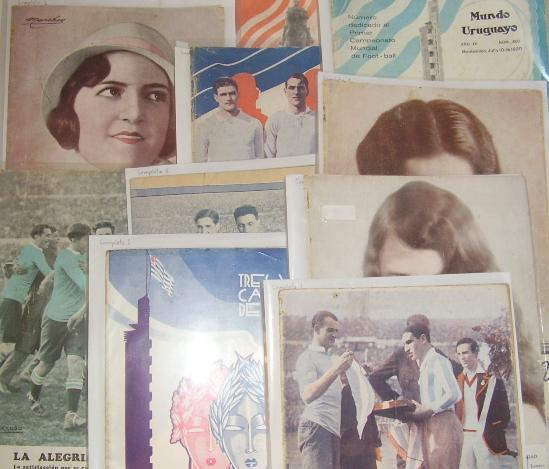 """Mundo Uruguayo"" magazines from June, July and August 1930"