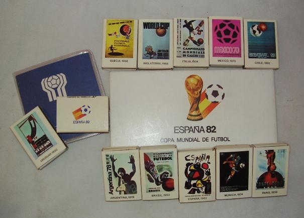 Fourteen 1982 and 1978 World Cup first day covers