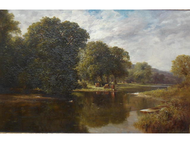 Stanley T. Headley (19/20th Century) 'On the Wye'