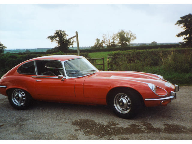 1972 Jaguar E-Type Series III V12 Coupé to be advised