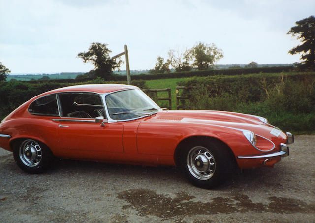 1972 Jaguar E-Type Series III V12 Coupé  Chassis no. to be advised