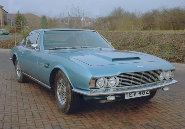 1970 Aston Martin DBS V12 Saloon  Chassis no. DBS/5514/R Engine no. ZP58291HB