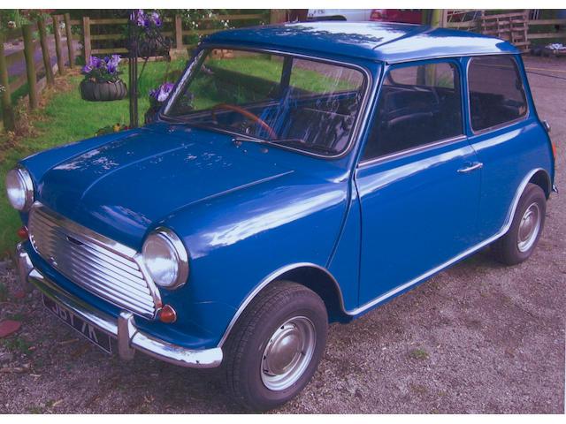 1971 Morris Mini Cooper 1275 'S' Saloon XAD1395245A