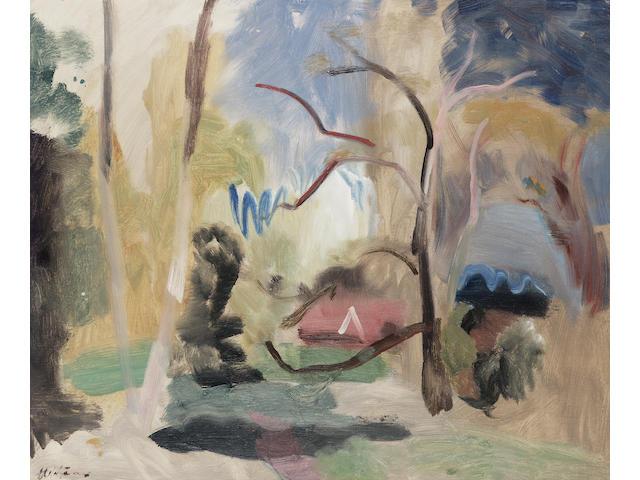 Ivon Hitchens (1893-1979) May Landscape 50.7 x 61 cm. (20 x 24 in.)
