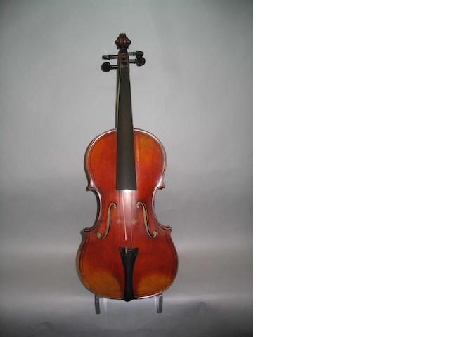 A good French Violin Mangenot School circa 1910