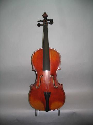 A good French Violin Mangenot School circa 1910