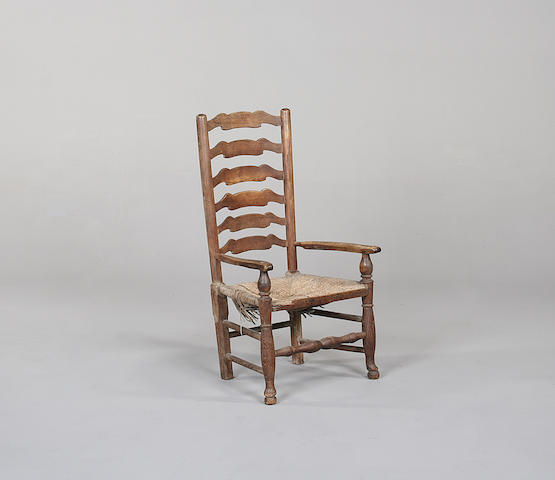 An ash country chair
