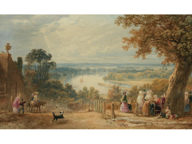 "Henry Gastineau (1791-1876) ""The Terrace, Richmond, Surrey, 1853"","