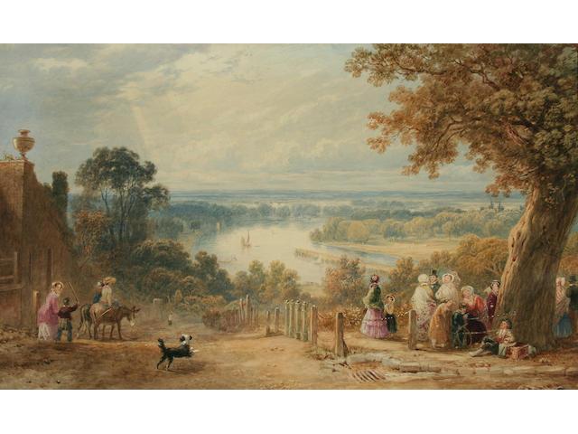 "Henry Gastineau (1791-1876) ""The Terrace, Richmond, Surrey, 1853"","