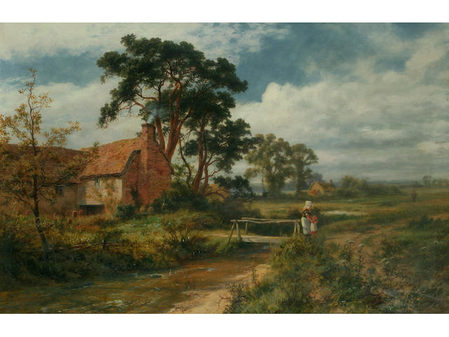"Robert Gallon (1845-1925) ""Father's Return, near Binfield"","