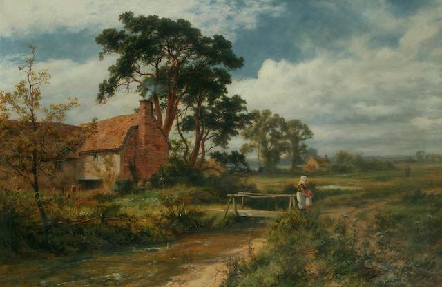 "Robert Gallon (1845-1925) ""Father's Return, near Binfield"","