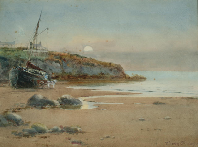 "Warren Williams ""Red Wharf Bay, Anglesey"","