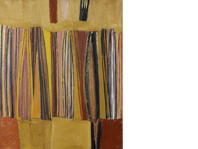 Sir Terry Frost R.A. (1915-2003) Earth Verticals 76 x 63.5 cm. (30 x 25 in.)