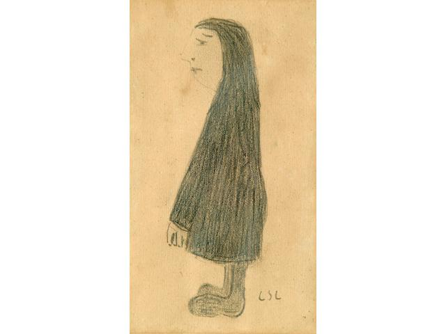 Laurence Stephen Lowry (1887-1976) 'Standing Figure'
