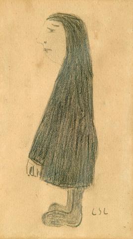 Laurence Stephen Lowry (1887-1976) 'Standing Figure'