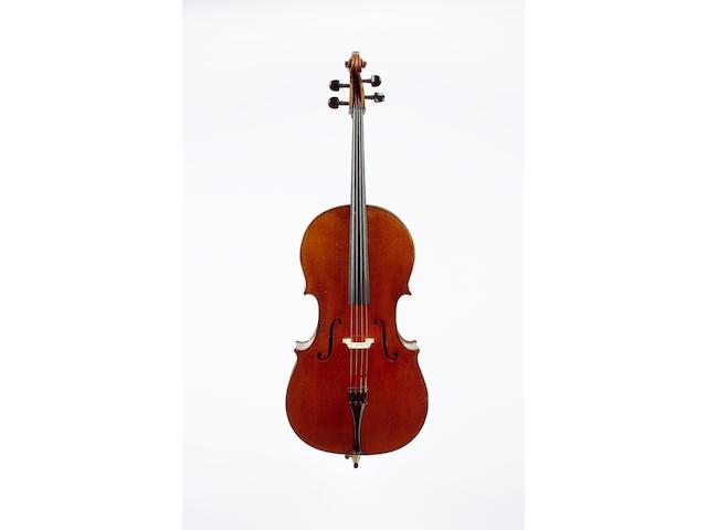 A good French Violoncello by Charles  J.B.Collin-Mezin, Paris ,1894