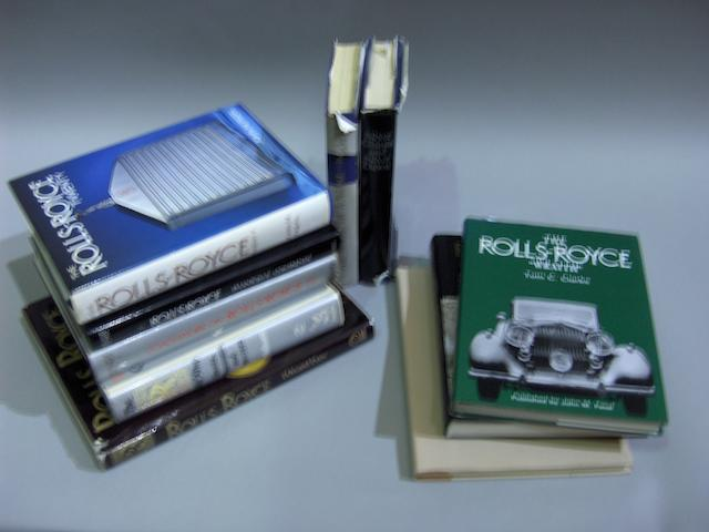 Twenty five Rolls-Royce reference books,