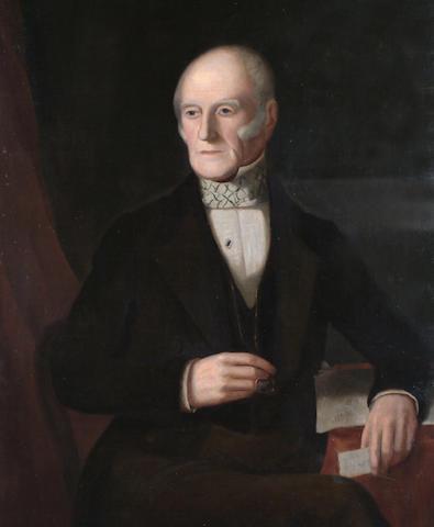 English School, 19th Century Portrait of a Gentleman.