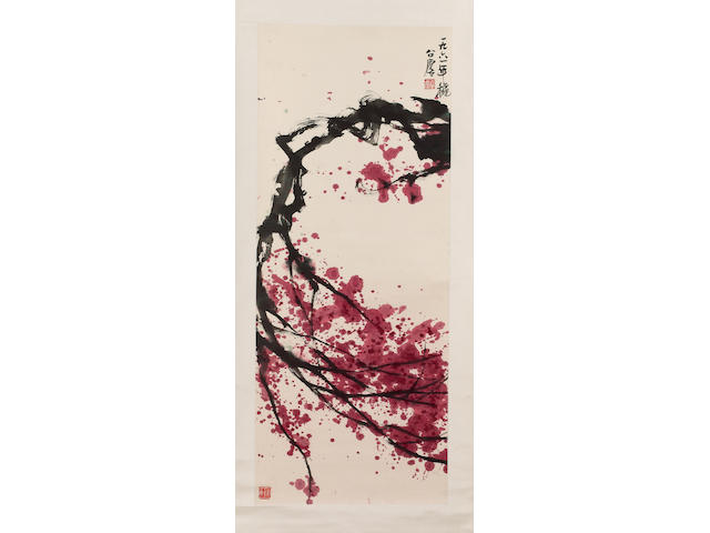 Fang Zhaolin (1914-2006) Flowering branch