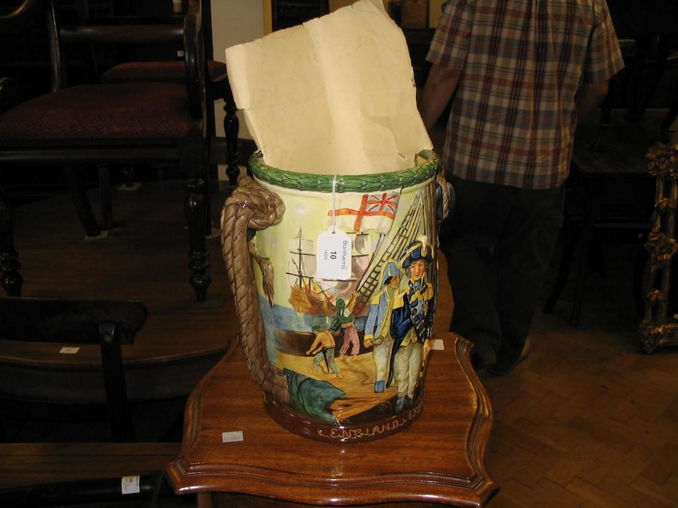Jugs Admiral Lord Nelson, a Royal Doulton loving cup