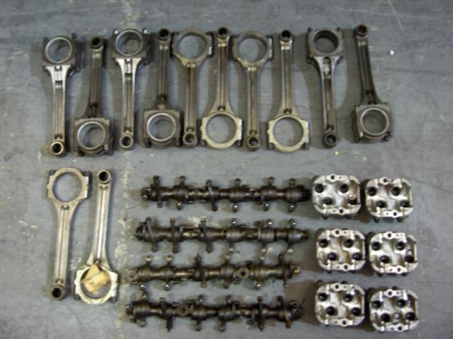 Assorted Rolls-Royce Phantom III mechanical spares,