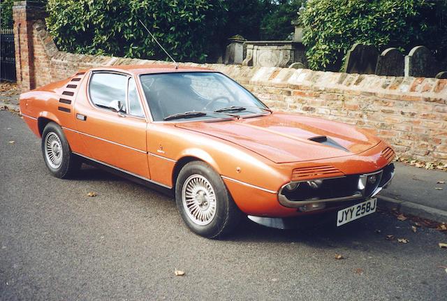 1971 Alfa Romeo Montreal 3.0-Litre Coupé  Chassis no. AR1425160 Engine no. 00564