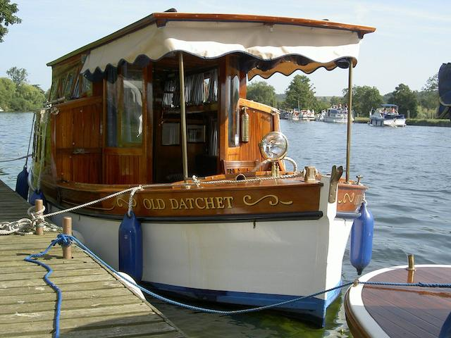 """Old Datchet"" a Salters river cruiser"