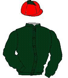 Distinctive Colours: Dark green, red cap, dark green diamond
