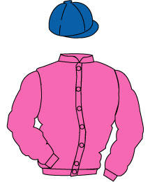 Distinctive Colours: Pink, royal blue cap